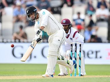 New Zealand vs West Indies: Colin de Grandhomme's whirlwind ton propels hosts to a 313-run lead at end of Day 2