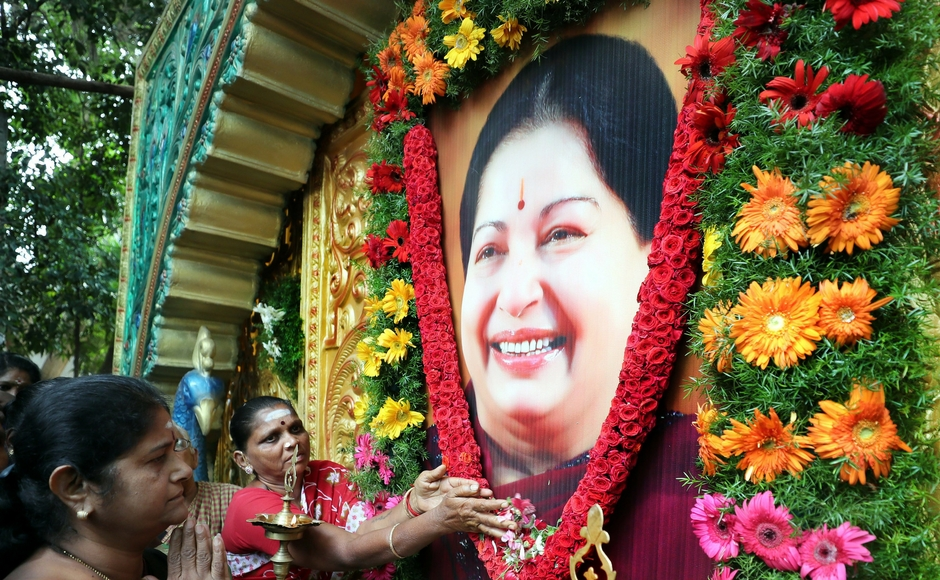 J Jayalalithaa's death anniversary: AIADMK functionaries pay tribute in Tamil Nadu, vow to follow Amma's footsteps