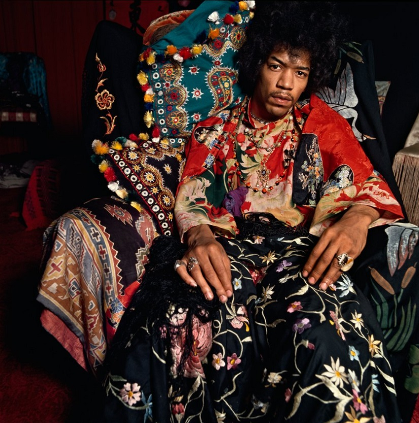 Jimi Hendrix. Image from Twitter/@common.