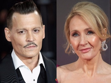 JK Rowling says she's now 'comfortable' casting Johnny Depp as Grindelwald