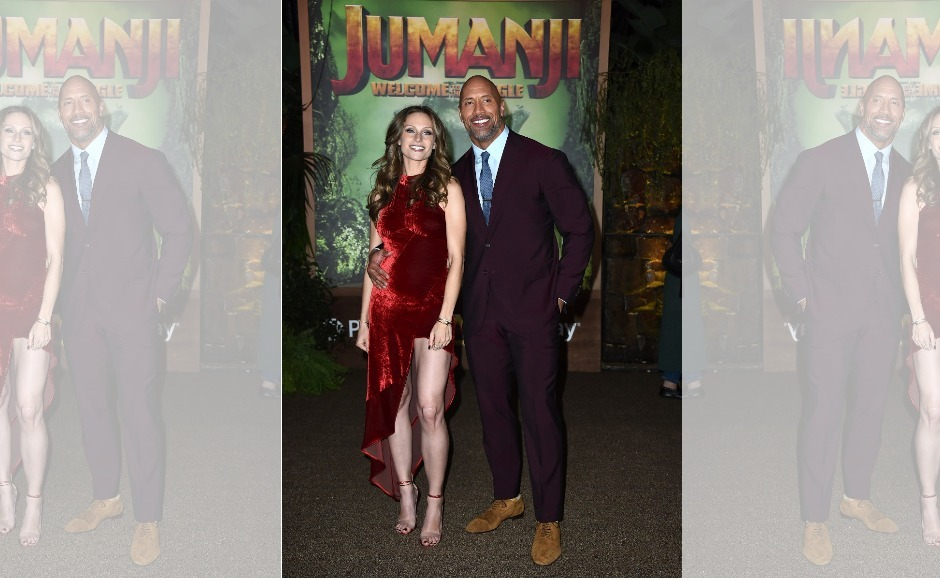 Jumanji: Welcome to the Jungle — Dwayne Johnson, Kevin Hart attend LA premiere