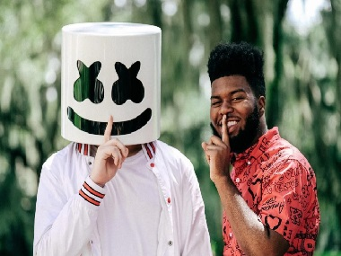 Grammy nominated singer Khalid talks about collaborating with DJ Marshmello
