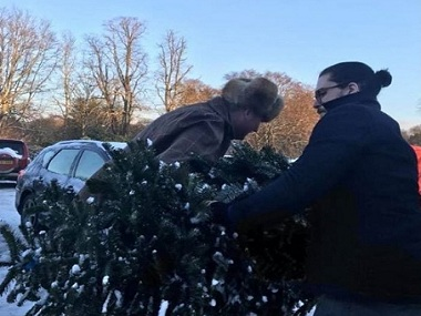 Game Of Thrones star Kit Harrington turns Christmas tree seller this winter
