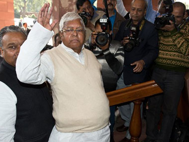 Lalu Prasad constitutes RJDs national executive panel from jail team includes lawyer Ram Jethmalani