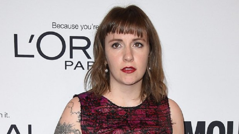 Lena Dunham. Image from Twitter/@CTVNews.