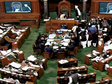 Lok Sabha proceedings adjourned amid disruptions protests session to resume at 12 pm