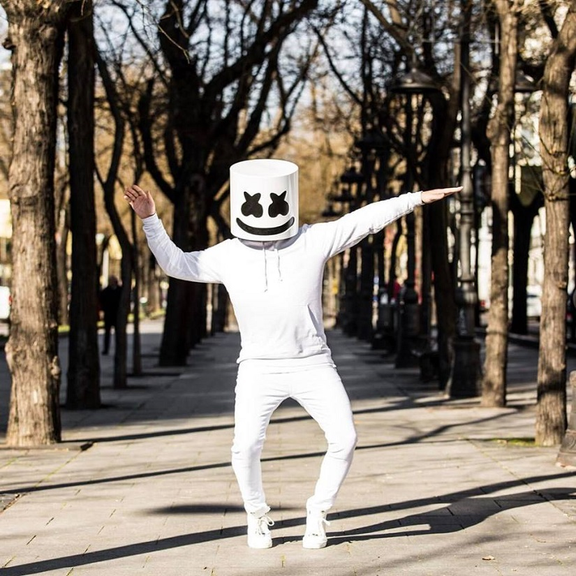 Marshmello. Image from Facebook.