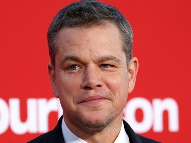 Matt Damon says there's a 'spectrum of behaviour' when it comes to sexual misconduct