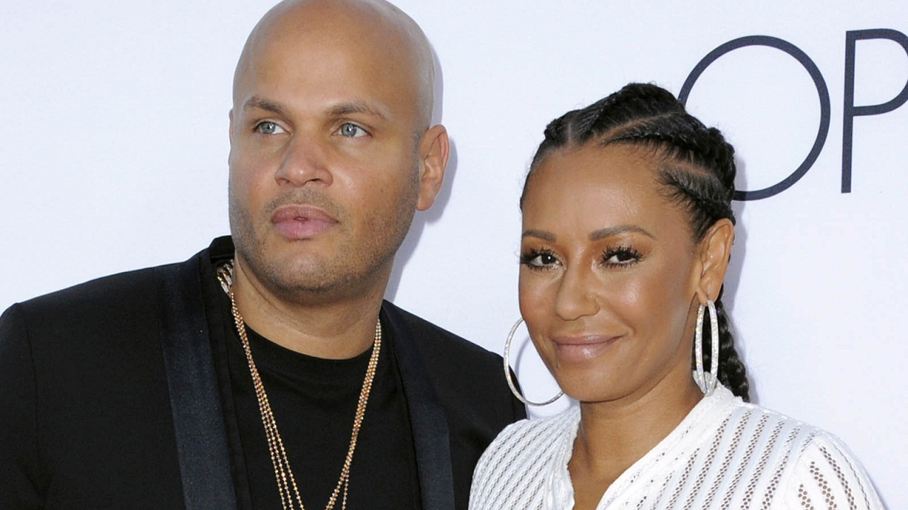 Stephen Belafonte and Mel B. YouTube