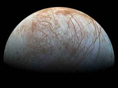 Europa may have tectonic plates similar to Earth, increasing the chances of the Jovian moon harbouring life