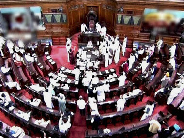 Rajya Sabha adjourned till 2 pm as Opposition insists on discussion about bank scams under voting rule