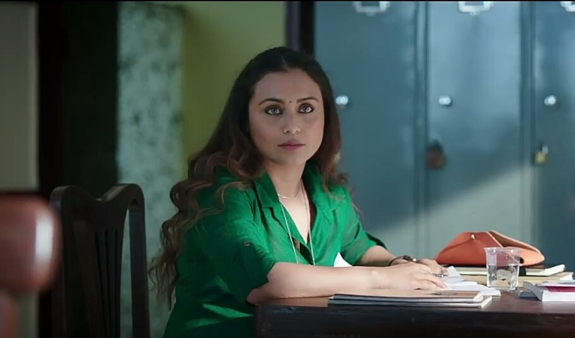 Rani Mukerji in a still from Hichki. Image from Twitter/@aashi_kumari
