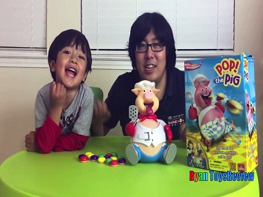 Forbes' eighth-highest paid YouTube celebrity of 2017 is Ryan, a six-year-old toy reviewer