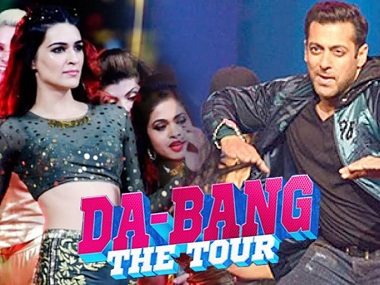 Da-Bangg Tour: Salman Khan, Sonakshi Sinha perform to packed stadium in New Delhi