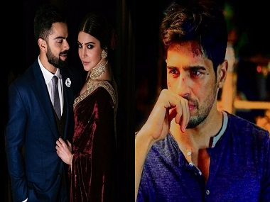 Anushka-Virat's reception card; Sidharth Malhotra goes 'off the grid': Social Media Stalkers' Guide