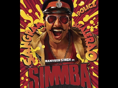 Simmba: Ranveer Singh plays a cop in upcoming Karan Johar, Rohit Shetty collaboration