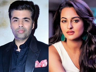 Karan Johar, Sonakshi Sinha teaming up for another film after Ittefaq; title to be announced soon