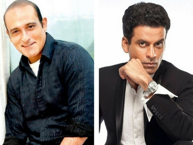 Has Akshaye Khanna been replaced by Manoj Bajpayee in Raj-DK's web series?