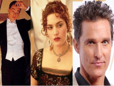 Matthew McConaughey auditioned for Jack's role in Titanic, reveals Kate Winslet