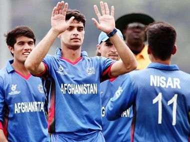 File image of the Afghanistan U-19 team. Image courtesy: ICC