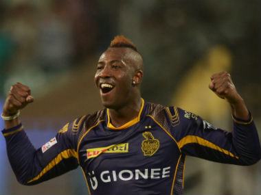 Andre Russell was purchased by Kolkata Knight Riders for Rs 60 lakh, going on to become on of their most valuable players. AFP