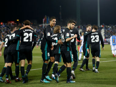 Copa del Rey Marco Asensios late strike gives stuttering Real Madrid narrow first leg win over Leganes