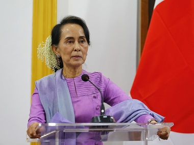 Canada parliament passes motion to strip Aung San Suu Kyi of honorary citizenship over Rohingya crisis