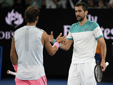 Australian Open 2018 Marin Cilic sets up semis clash with Kyle Edmund after Rafael Nadal retires in quarterfinal