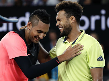 Australian Open 2018 Nick Kyrgios battles past idol JoWilfried Tsonga to set up clash with Grigor Dimitrov