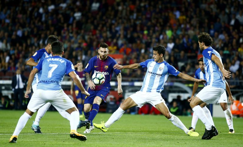 La Liga Smooth sailing for Barcelona as Zinedine Zidanes Real Madrid continue to struggle at halfway point