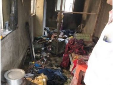 Mumbai Bandra building fire kills 1yrold toddler one more child critical cause of blaze unknown