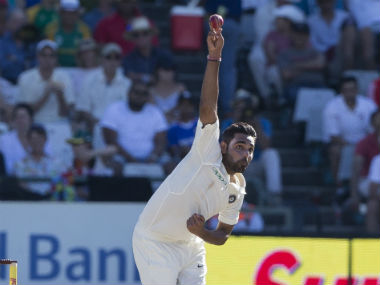 Bhuvneshwar Kumar was dropped for the Centurion Test despite collecting six wickets at Cape Town. AP