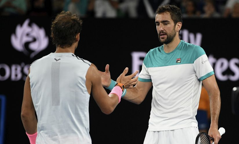 Australian Open 2018 Marin Cilic Kyle Edmunds raw aggression trumps their fancied opponents in quarterfinals