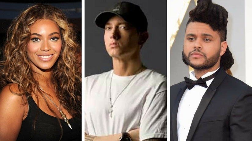 Coachella music festival Beyonc Eminem The Weeknd to headline the event