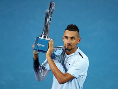 Brisbane International Nick Kyrgios beats Ryan Harrison in straight sets to clinch first title of 2018