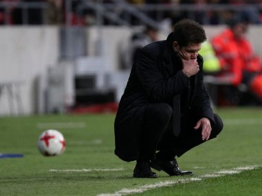 Copa del Rey Atletico Madrid manager Diego Simeone banned for three cup games for Sevilla protests