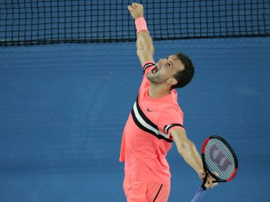 Australian Open 2018 Grigor Dimitrov outlasts Nick Kyrgios in four thrilling sets to reach quarterfinals