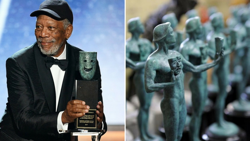 Morgan Freeman points out gender specific nature of SAG trophy after bagging lifetime achievement award