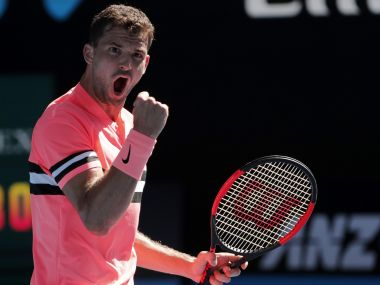 Australian Open 2018 Grigor Dimitrov eases into 2nd round Next Gens Denis Shapovalov Andrey Rublev win