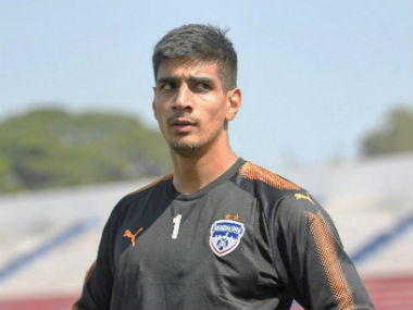 ISL 201718 Gurpreet Singh Sandhu says challenge from other Indian goalkeepers for place in national side excites him