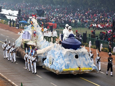 ITBP tableau to return to Republic Day parade after 20 years float will show troops riding snow scooters on icy mountains