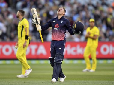 Jason ROy recorded the highest individual score by an England batsman as the visitors cruised to a victory in the 1st ODI against Australia. AP