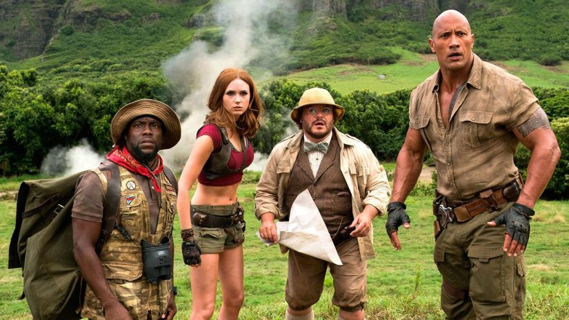 Jumanji Welcome to the Jungle sequel to release on 13 December 2019 announces Dwayne Johnson