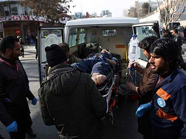 Taliban blow up ambulance packed with explosives in Kabul kill 103 wound 235 four suspects arrested