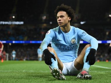 Premier League Leroy Sane to miss up to six weeks of action with ankle injury says Pep Guardiola
