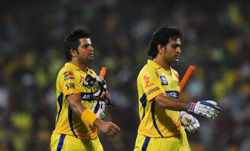 Captain MS Dhoni and Suresh Raina are part CSK's old core that existed before their suspension. AFP