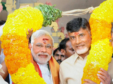 Chandrababu Naidu unlikely to split with BJP in Andhra but TRS gains could mean saffron party will scout for other allies
