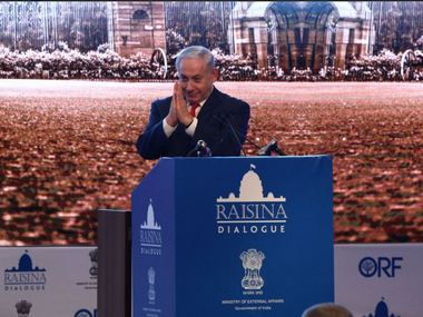 Benjamin Netanyahu inaugurates Raisina Dialogue lauds Narendra Modis economic policies