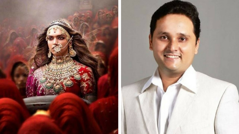 Padmaavat honours Rani Padmavati celebrates Rajput bravery says Shiva trilogy author Amish Tripathi