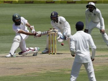 Parthiv Patel dropped Hashim Amla in the first innings and Dean Elgar in the second. AP